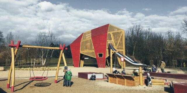 Strefa Mamuciątek – rozbudowa placu zabaw wokół Mamuta
